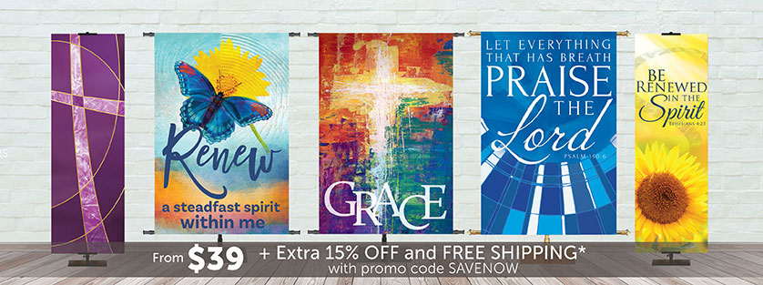 Church Banners On Sale